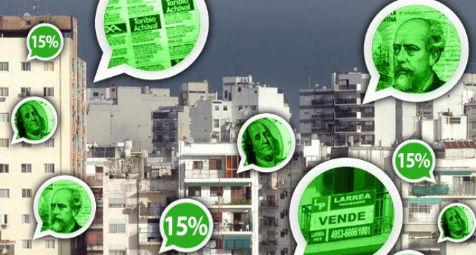 Inmobiliarias anticipan que las propiedades subirán hasta 15% en dólares por presión de los créditos hipotecarios en UVA.