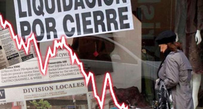 Economía 2018: el consumo no repunta, hay más locales comerciales vacíos y crece 30% la superficie disponible