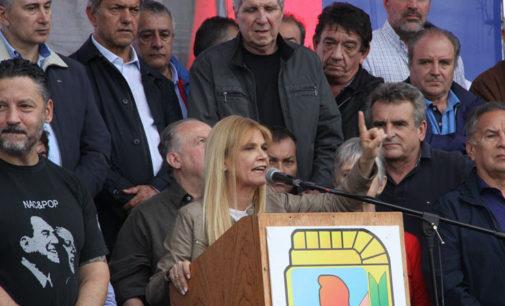 """Moyano ubicó a Magario como """"candidata a gobernadora de la provincia de Buenos Aires"""""""