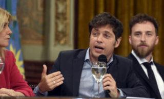 """Duras críticas de Kicillof a las modificaciones de Cambiemos: """"Desfinancian a la Provincia y favorecen a sectores concentrados"""""""