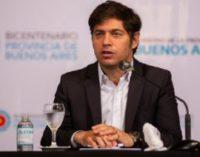Kicillof lanzó un Plan de Impulso Productivo para reactivar la economía en medio de la pandemia