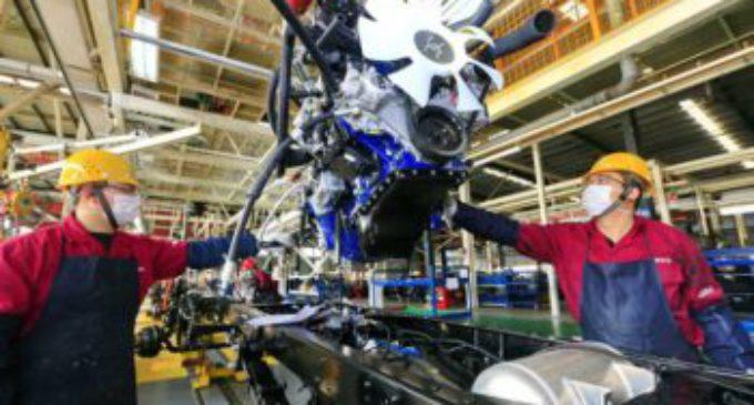 Efecto cuarentena: en marzo, la producción industrial manufacturera se desplomó 17 por ciento interanual
