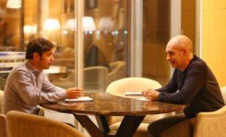 Kicillof y Rodríguez Larreta se reunieron a solas para analizar la próxima fase de la cuarentena en el AMBA