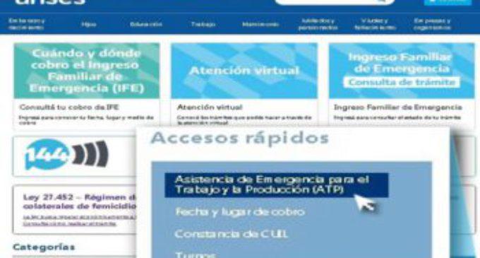 Ya se puede consultar la fecha de cobro del ATP correspondiente a junio