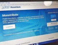 La AFIP categorizó a más de cuatro millones de monotributistas y ofreció facilidades de pago