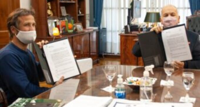 La UNLaM y la Corporación del Mercado Central de Buenos Aires firmaron un convenio marco de cooperación